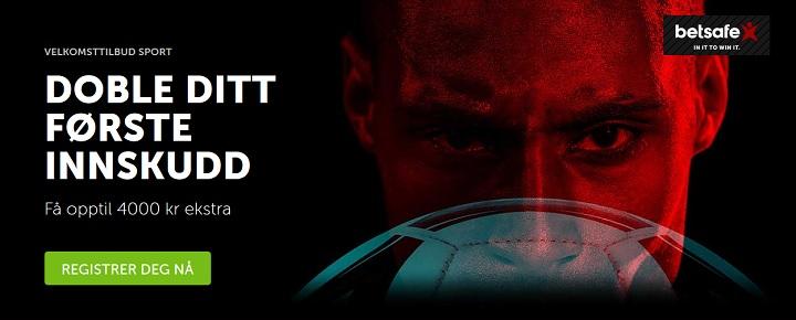 Betsafe sportsbook med den beste oddsbonusen 2018